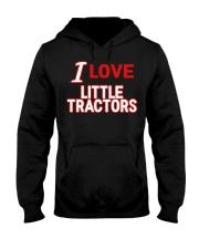 I Love Little Tractors Shirt Hooded Sweatshirt thumbnail