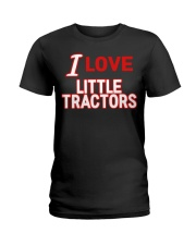 I Love Little Tractors Shirt Ladies T-Shirt thumbnail