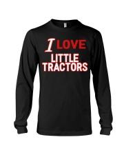 I Love Little Tractors Shirt Long Sleeve Tee thumbnail