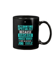 Accounting Specialist 3 Mug tile