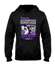 Accountant Supervisor Look Better Hooded Sweatshirt thumbnail