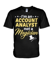 Account Analyst 2 V-Neck T-Shirt thumbnail