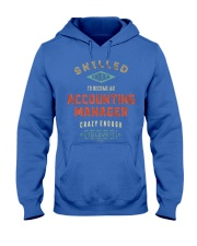 Accounting Manager 042019 Hooded Sweatshirt front