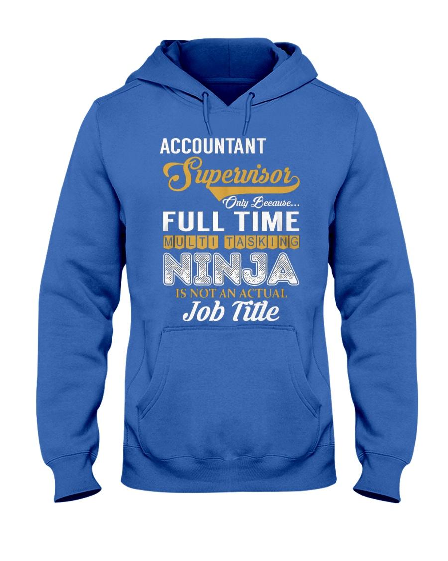 Accountant Supervisor Ninja Hooded Sweatshirt