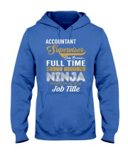 Accountant Supervisor Ninja Hooded Sweatshirt front