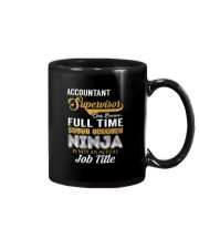Accountant Supervisor Ninja Mug thumbnail