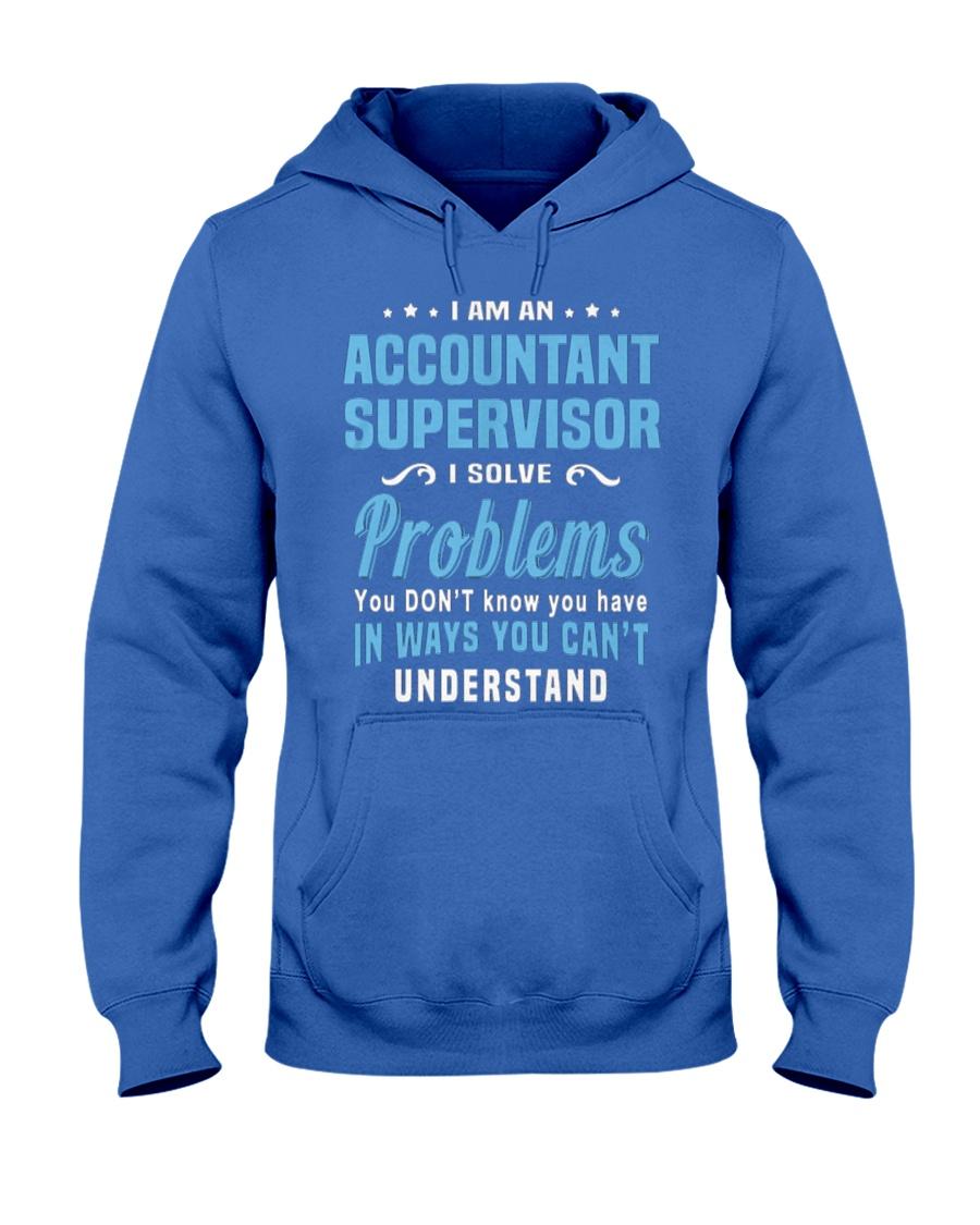 Accountant Supervisor 1 1 2 Hooded Sweatshirt