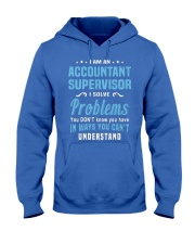 Accountant Supervisor 1 1 2 Hooded Sweatshirt front