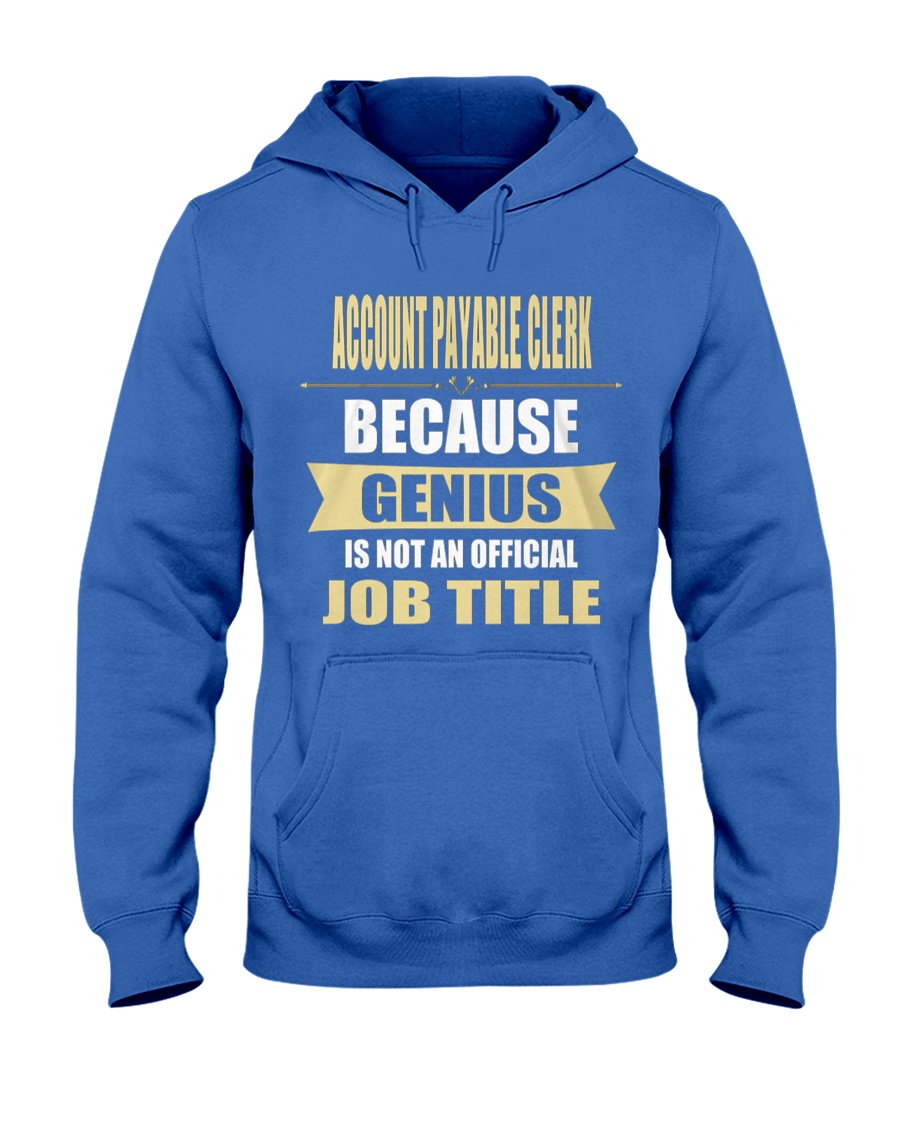 Account Payable Clerk 2 Hooded Sweatshirt