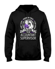 Accountant Supervisor Never Stop Hooded Sweatshirt thumbnail