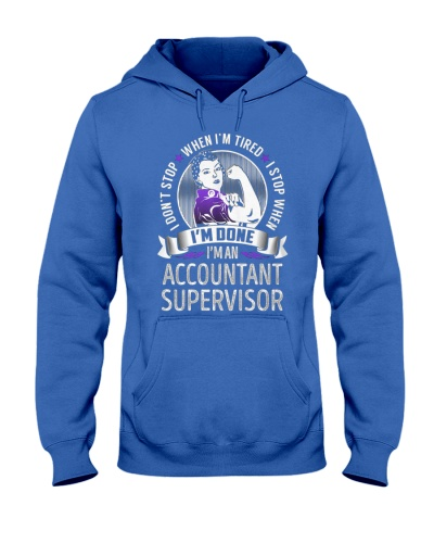 Accountant Supervisor Never Stop