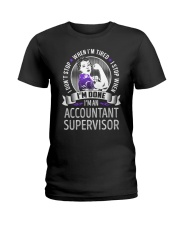 Accountant Supervisor Never Stop Ladies T-Shirt tile