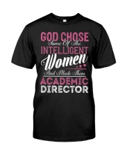 Academic Director Intelligent Women Classic T-Shirt thumbnail