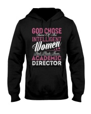 Academic Director Intelligent Women Hooded Sweatshirt front