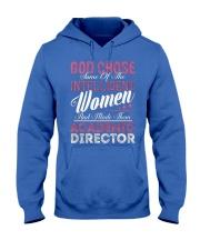 Academic Director Intelligent Women Hooded Sweatshirt front