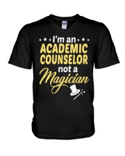 Academic Counselor 202459 V-Neck T-Shirt thumbnail