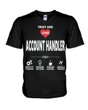 Account Handler V-Neck T-Shirt thumbnail