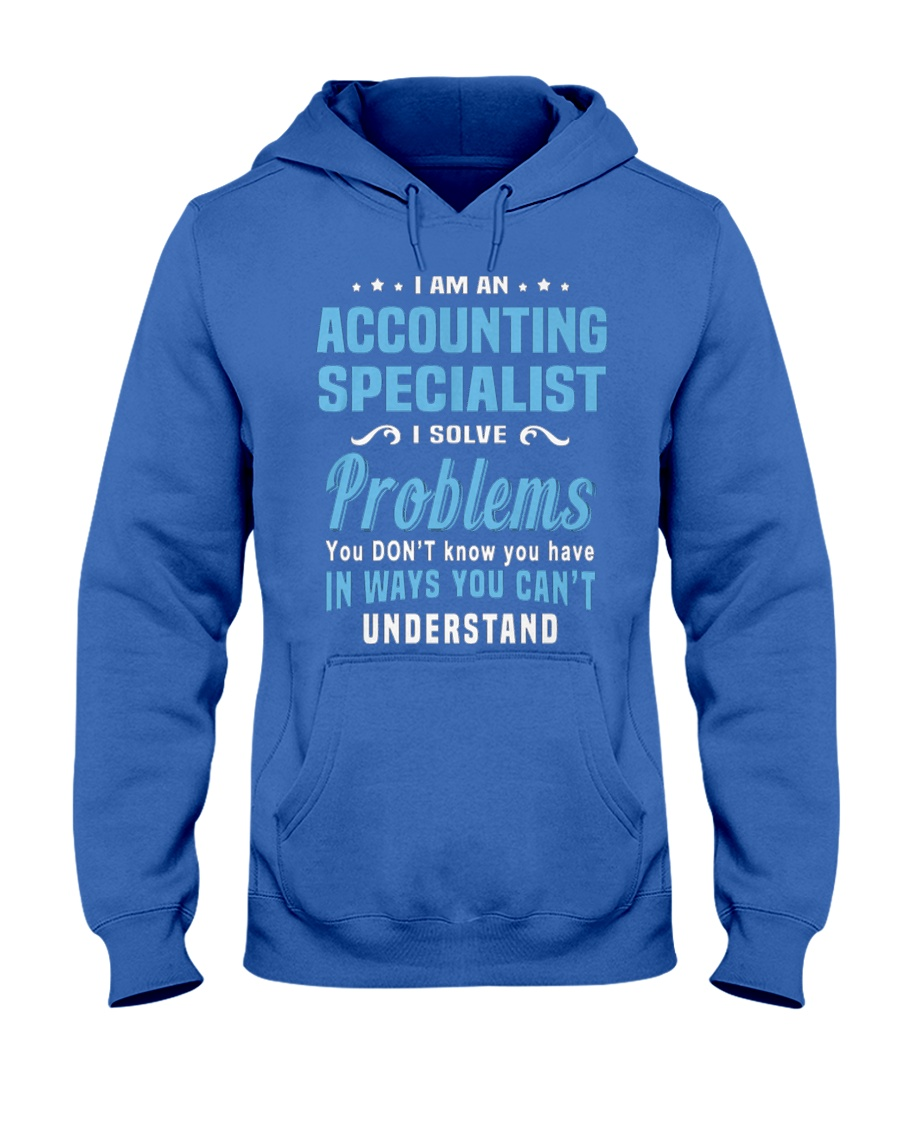 Accounting Specialist 5 Hooded Sweatshirt