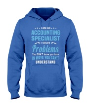 Accounting Specialist 5 Hooded Sweatshirt front