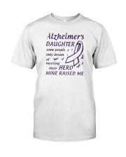 Alzheimers Daughter Classic T-Shirt front