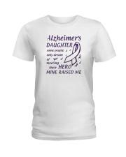 Alzheimers Daughter Ladies T-Shirt thumbnail