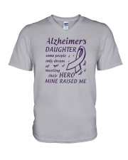 Alzheimers Daughter V-Neck T-Shirt thumbnail