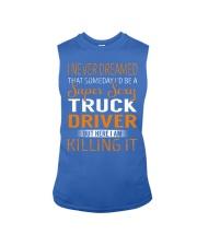 Truck Driver - Super Sexy Job Sleeveless Tee thumbnail