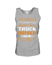 Truck Driver - Super Sexy Job Unisex Tank thumbnail