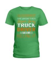 Truck Driver - Super Sexy Job Ladies T-Shirt thumbnail