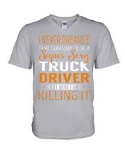 Truck Driver - Super Sexy Job V-Neck T-Shirt thumbnail