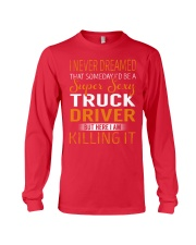 Truck Driver - Super Sexy Job Long Sleeve Tee thumbnail