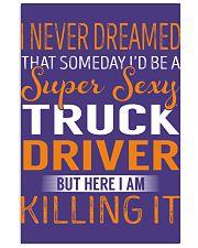 Truck Driver - Super Sexy Job 11x17 Poster thumbnail