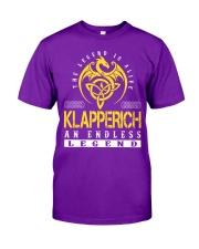 KLAPPERICH - Endless Legend Name Shirts Classic T-Shirt thumbnail