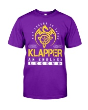 KLAPPER - Endless Legend Name Shirts Classic T-Shirt thumbnail