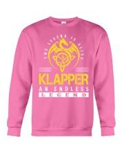 KLAPPER - Endless Legend Name Shirts Crewneck Sweatshirt thumbnail