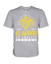 KLAPPER - Endless Legend Name Shirts V-Neck T-Shirt thumbnail
