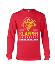 KLAPPER - Endless Legend Name Shirts Long Sleeve Tee thumbnail