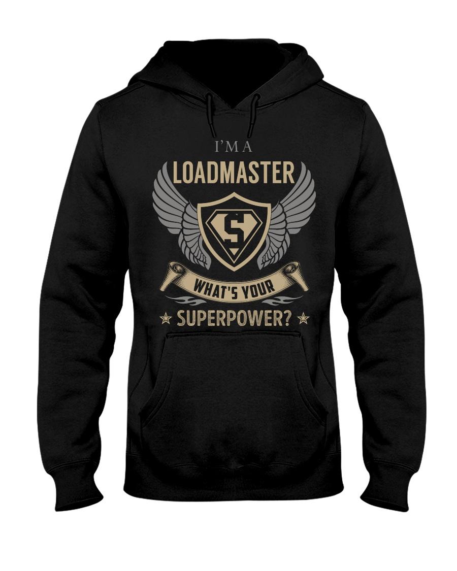 Loadmaster - Superpower Job Title Hooded Sweatshirt