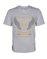 Loadmaster - Superpower Job Title V-Neck T-Shirt thumbnail