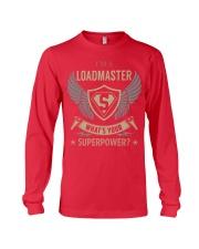 Loadmaster - Superpower Job Title Long Sleeve Tee thumbnail