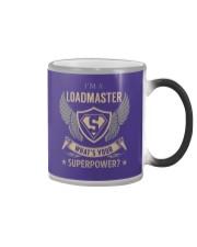 Loadmaster - Superpower Job Title Color Changing Mug thumbnail