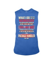 Package Handler - What I do Job Title Sleeveless Tee thumbnail