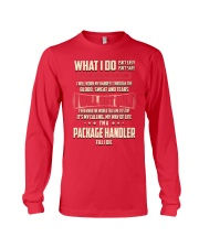 Package Handler - What I do Job Title Long Sleeve Tee tile
