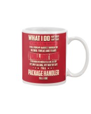 Package Handler - What I do Job Title Mug thumbnail
