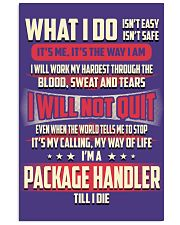 Package Handler - What I do Job Title 11x17 Poster thumbnail
