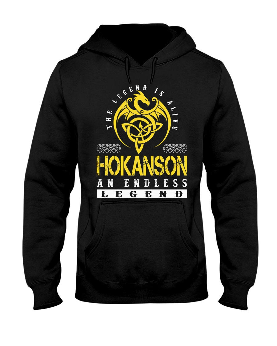 HOKANSON - Endless Legend Name Shirts Hooded Sweatshirt