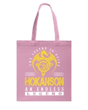 HOKANSON - Endless Legend Name Shirts Tote Bag thumbnail