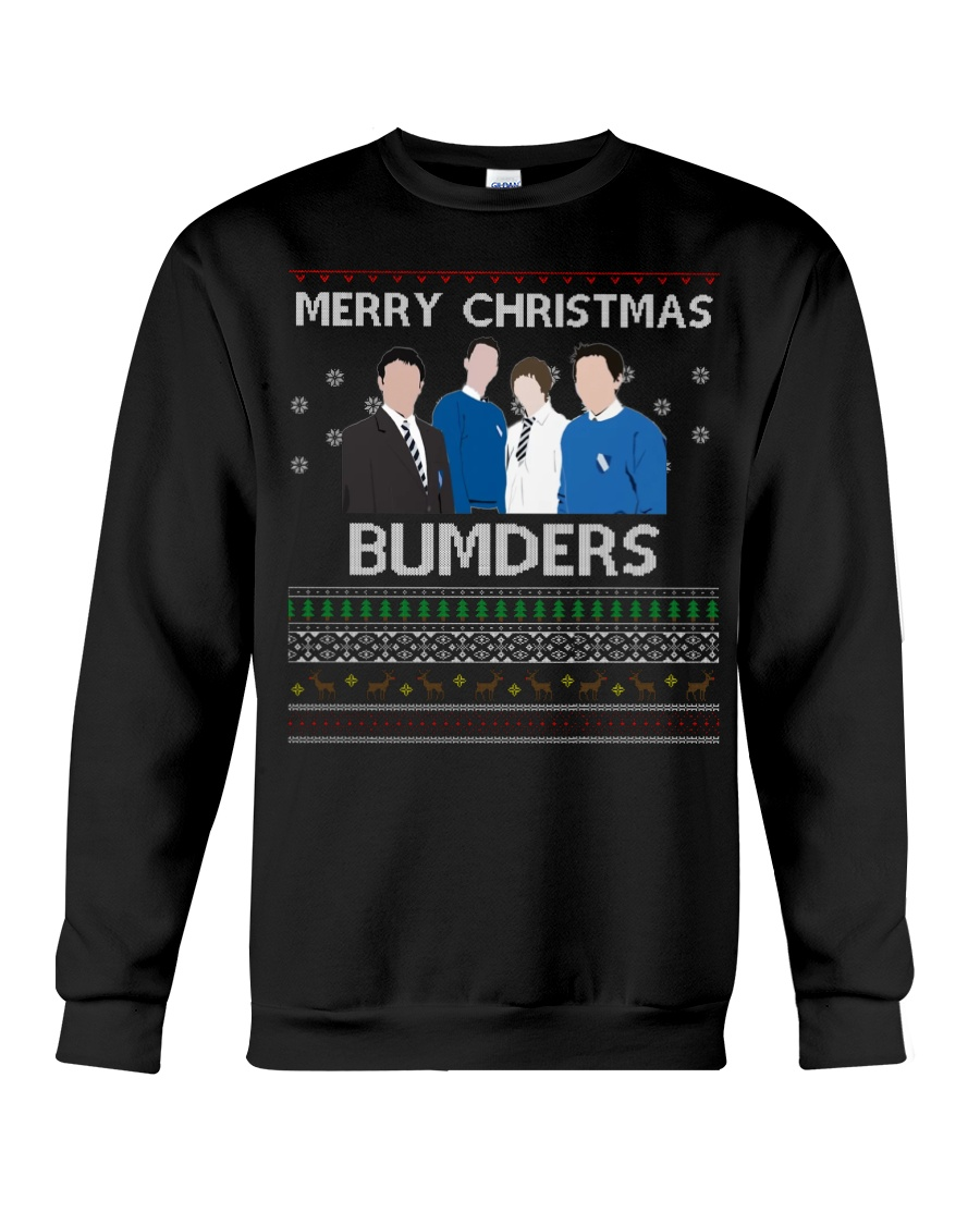 Limited Edition Merry Christmas Bumders Crewneck Sweatshirt