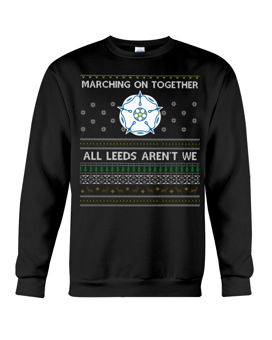 Limited Edition Marching On Together Christmas Crewneck Sweatshirt