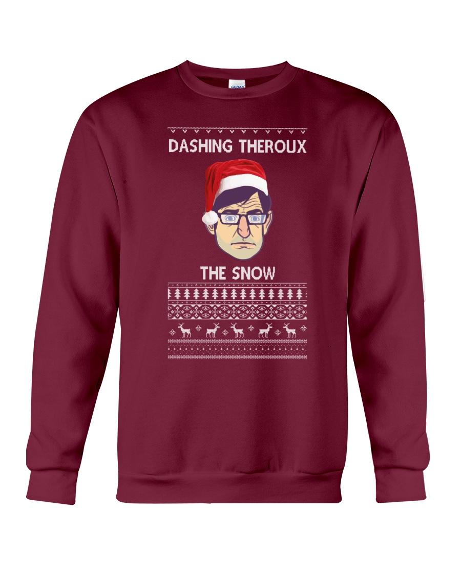 Limited Edition Dashing Theroux The Snow Crewneck Sweatshirt